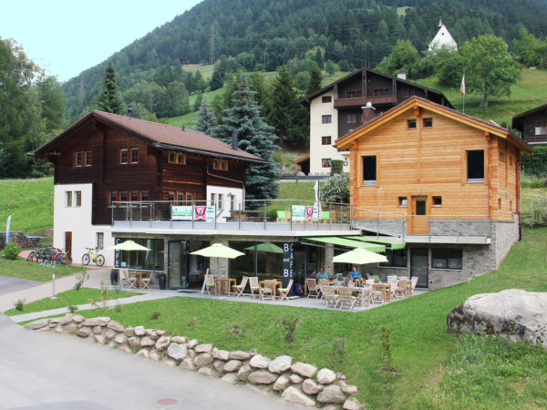 Café B&B Hängebrigga, city – Logis-Partner Stoneman Glaciara Mountainbike