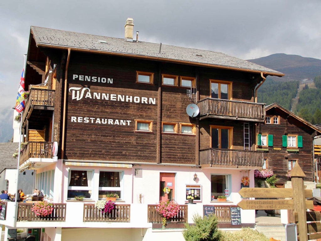 Hotel Wannenhorn, city – Logis-Partner Stoneman Glaciara MTB