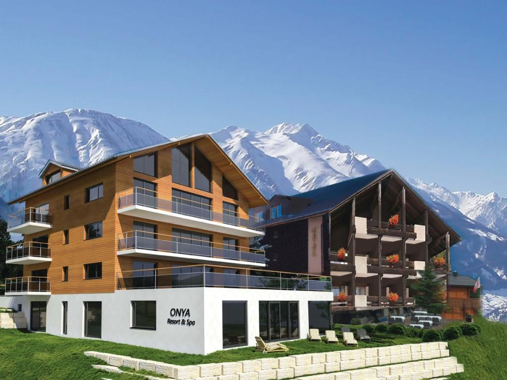 Hotel The Onya Resort&Spa und Hotel zur Alten Gasse, city – Logis-Partner Stoneman Glaciara MTB