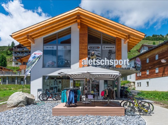 Aletschsport, city – Logis-Partner Stoneman Glaciara Mountainbike