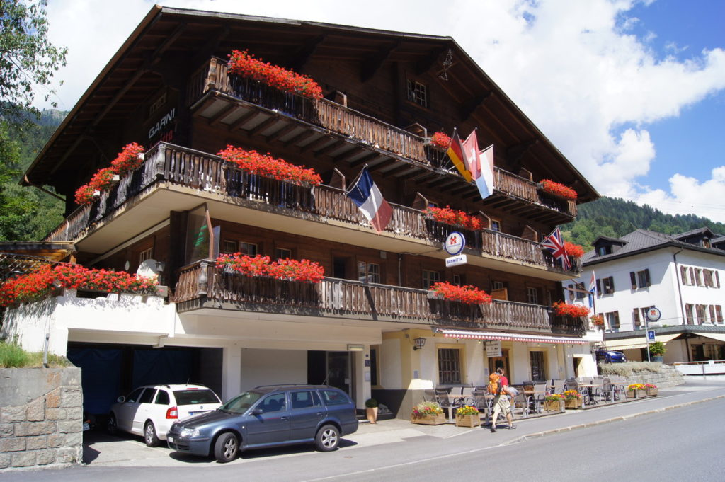 Restaurant Hotel Schmitta, city – Logis-Partner Stoneman Glaciara MTB