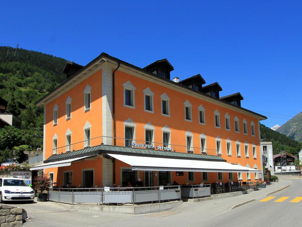 Hotel des Alpes, city – Logis-Partner Stoneman Glaciara MTB